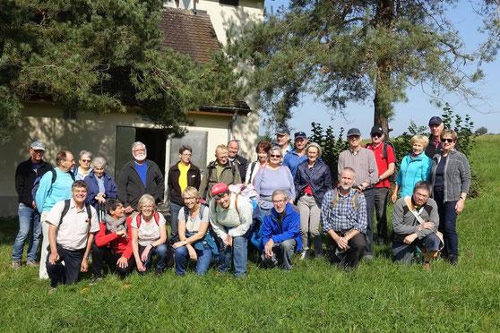 Wege-Pfade-Spuren 23.09.2017 Grundwasserpumpwerk Ottikon