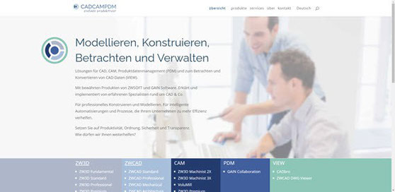 Website cadcampdm.com