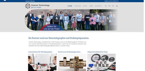 Website cloeren.de