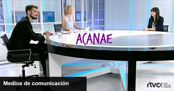 ACANAE - Asociacion Canaria No Al Acoso Escolar en medios de comunicacion
