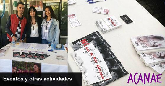 Eventos y actividades de ACANAE en Canarias