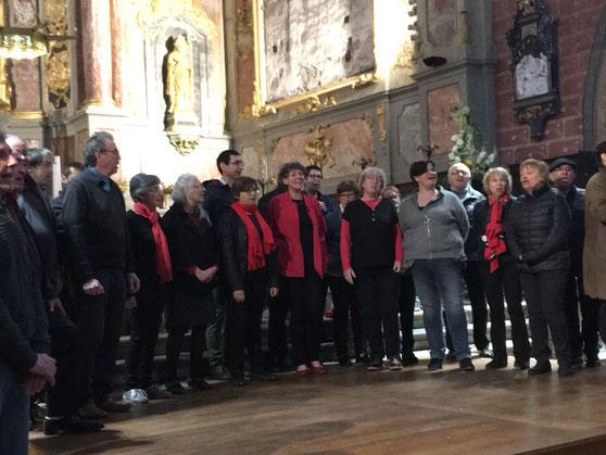 """St Nicolas 15 avril 2018 avec  """"de save a Gimona"""""""