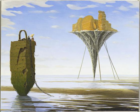 """""""Helgoland"""" 80x100cm, 2003, verkauft"""
