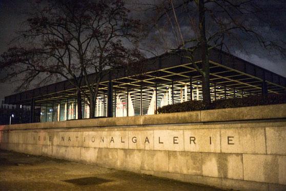 Neue Nationalgalerie 20 Berlin 2014 ©  Arina Dähnick