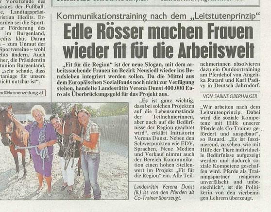 Kronen Zeitung 27.07.2015