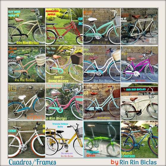 CATALOGO GENERAL DE BICIS