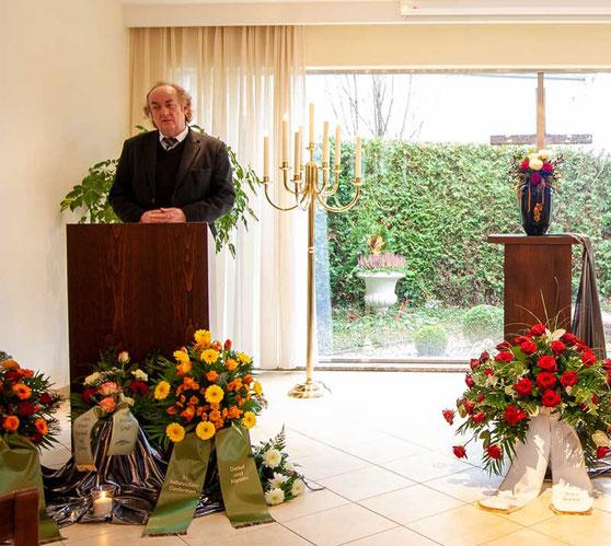 Aue Bestattungen - Trauerredner