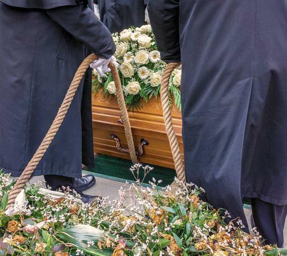 Aue Bestattungen - Erdbestattung