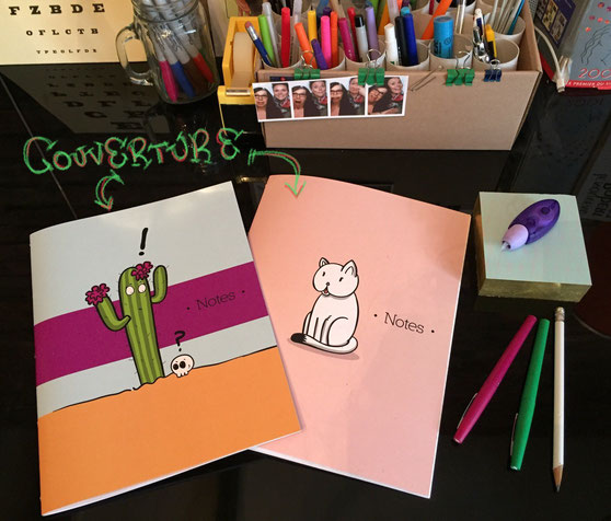 Cat or Cactus notebooks