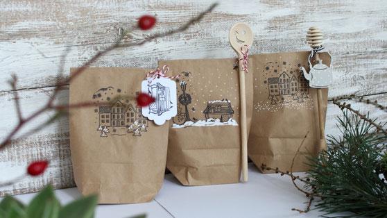 geschenke verpacken, geschenkideen für Nachbarn, geschenkidee für Schwiegereltern, geschenk original verpacken