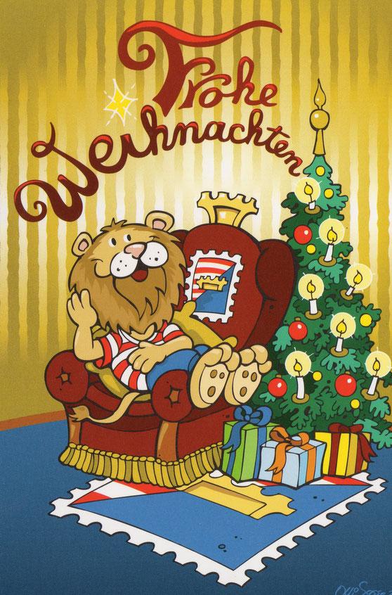 Leophil wünscht Euch frohe Weihnachten und einen guten Start in das Jahr 2018