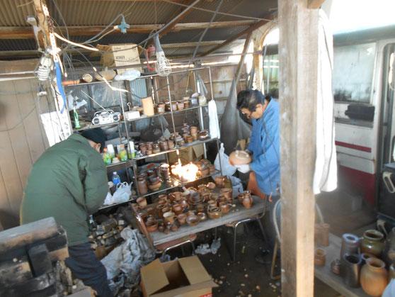武州熊谷ひみこ窯 窯開け 2015