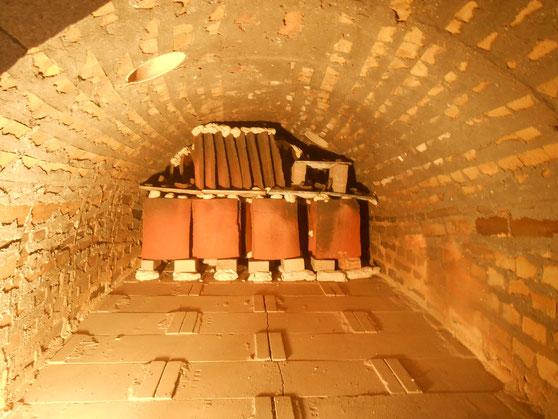 復元古代窯 窯だし 鳩山町