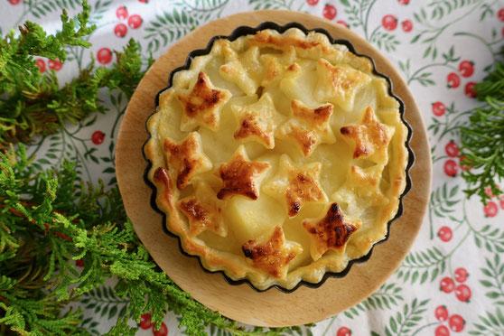 塩りんごで作るアップルパイ さっぱりアップルパイ 砂糖不使用アップルパイ