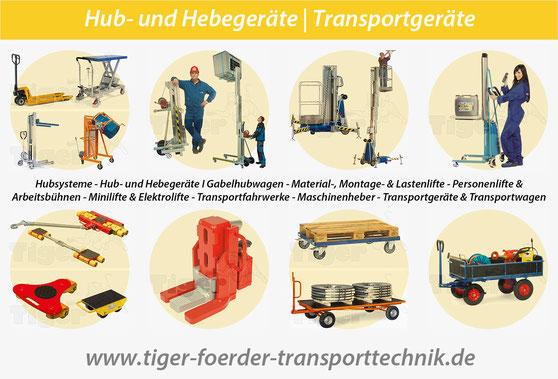 Tiger-Förder-Transporttechnik