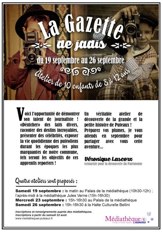 """Atelier """"gazette de jadis"""" Puteaux"""
