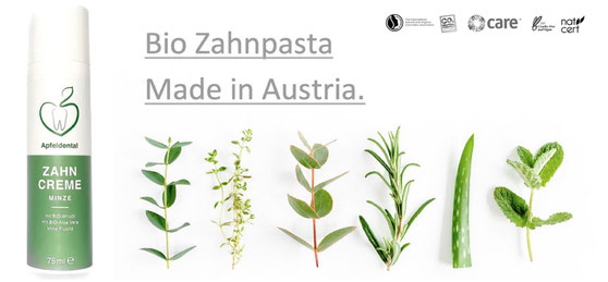 Anzeige Bio Zahnpasta