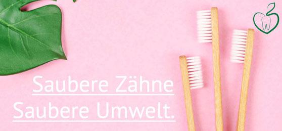 Anzeige Bambus Zahnbürste