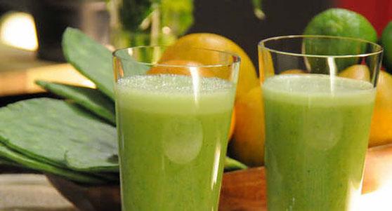 El jugo de nopal y toronja y sus beneficios para la salud