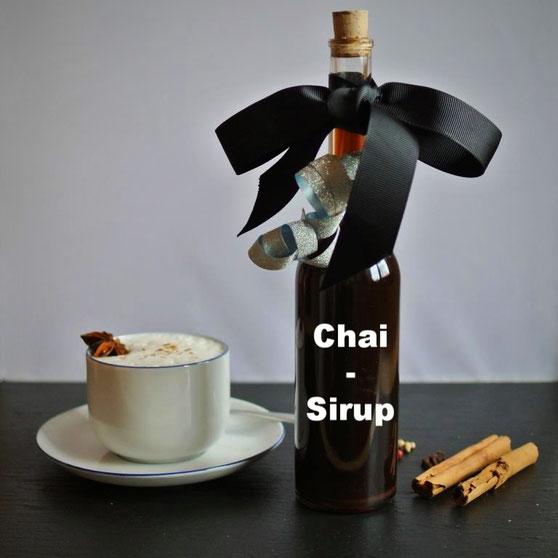 Chai-Sirup auch für Chai-Latte
