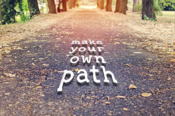 Beim Coaching im Gehen den eigenen Weg finden.