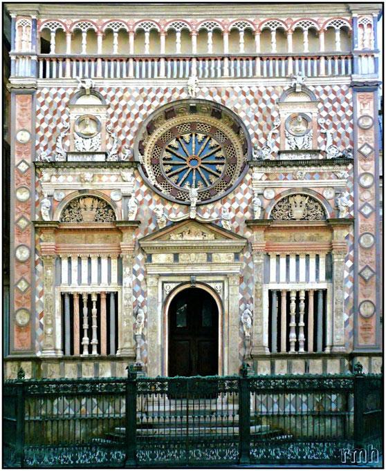 Portal of Chiesa di S. Maria Maggiore, Bergamo, Italy