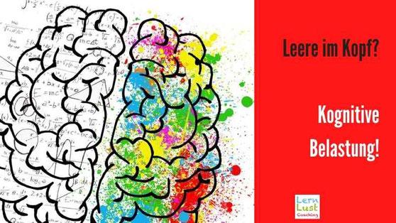 kognitive Belastung gedäctnisverlust vergessen lernen
