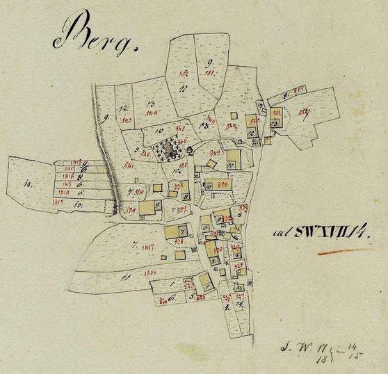 Ortsplan 1810