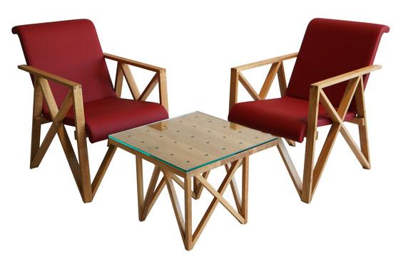 HIPP Designstuhl Set