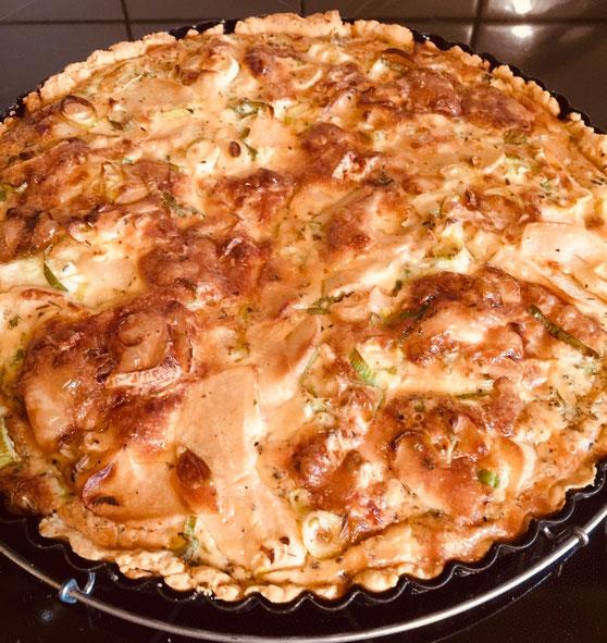 Bild: Rezept Camembert Quich