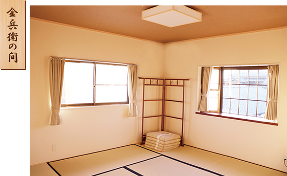 龍馬の泊まった部屋