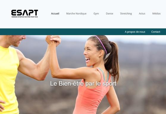 Site internet de l'association ESAPT
