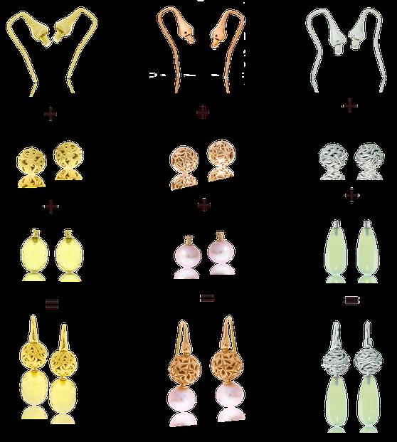 Die Exhchangeable Kollektion der Goldschmiede OBSESSION Zürich und Wetzikon