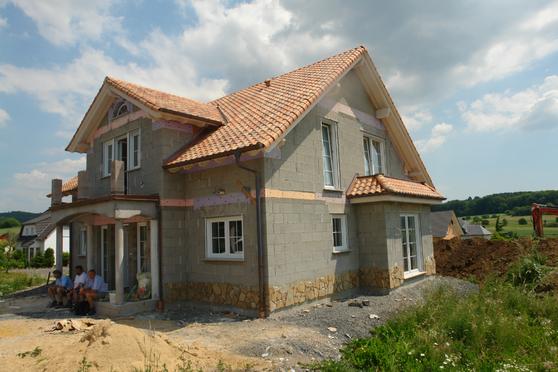 Einfamilienhaus Koblenz BlowerDoor Test