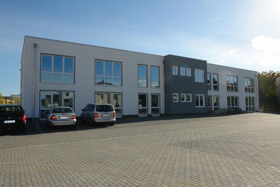 Bürogebäude Rheinbach BlowerDoor Test