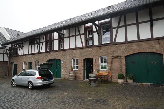 Hofanlage Bornheim BlowerDoor Test