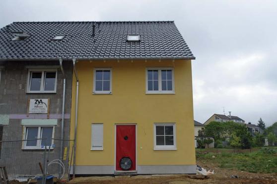 Doppelhaushälfte Meckenheim BlowerDoor Test