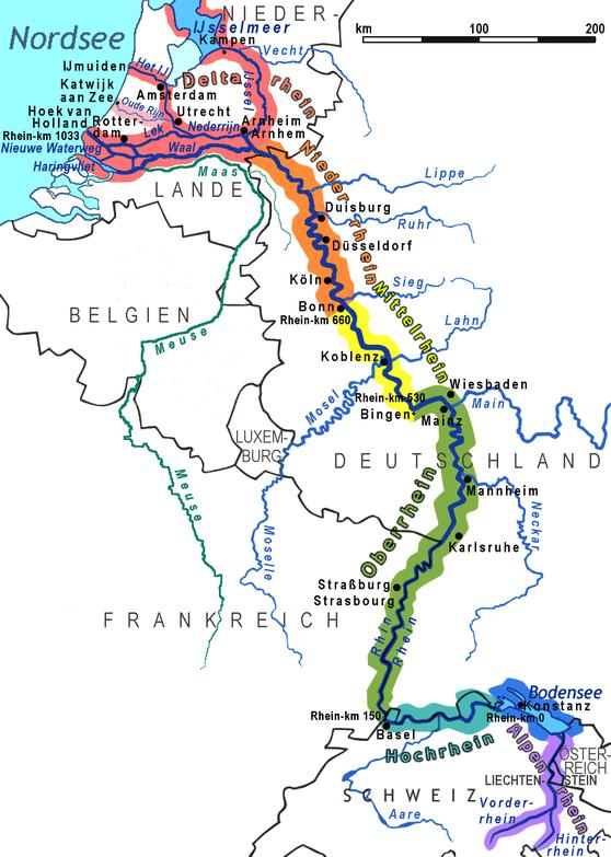 德國最有名的河流之一,一定是萊茵河Rhein!(圖:Daniel Ullrich, WikiCommons)