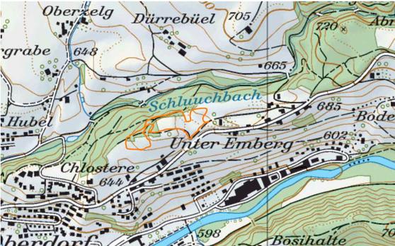 Lageplan Emberg