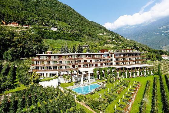 Giardino Marling Marling Albergo Jagdhof Marlengo Meran Merano Südtirol Alto Adige - Gourmet Südtirol