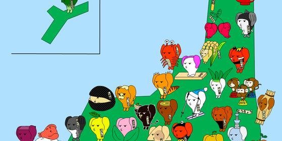 世界自閉症啓発デー「ポスター用絵画」A3サイズ分割2