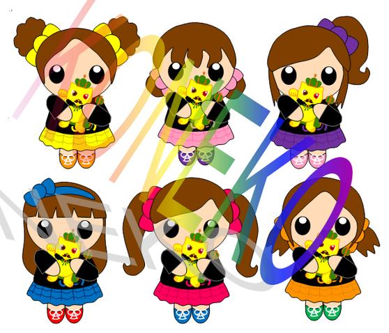 にぃキャラ まねking 黄猫コラボ