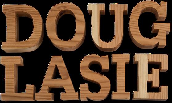 Holzbuchstaben Douglasie