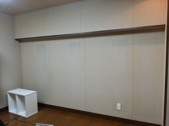契約前の壁