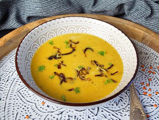 Shorba Ads, Suppe aus roten Linsen nach ägyptischem Rezept