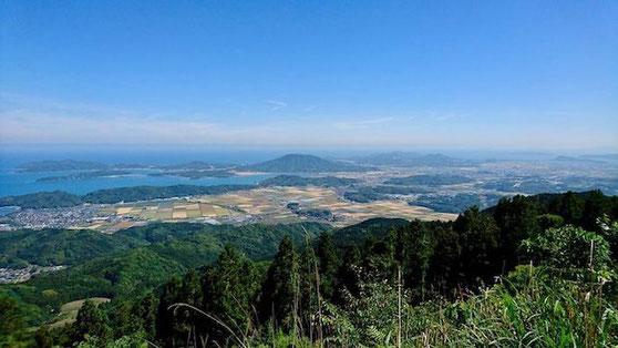 福岡県糸島市二丈波呂、はろ展望台