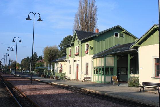 Bahnhof in Moritzburg