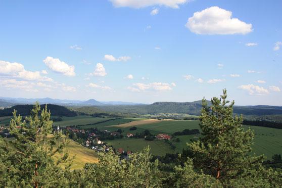 vom Gohrisch nach Böhmen