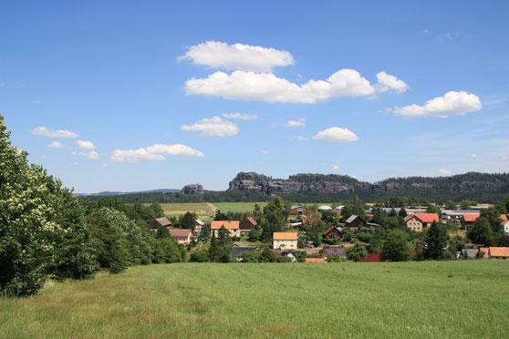 über Reinhardtsdorf zum Falkenstein und den Schrammsteinen