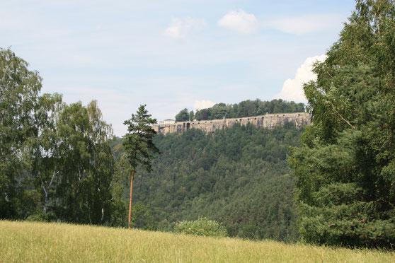 Festung Königstein vom Quirl